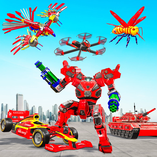 Multi Robot Transform game – Tank Robot Car Games  (Unlimited money,Mod) for Android