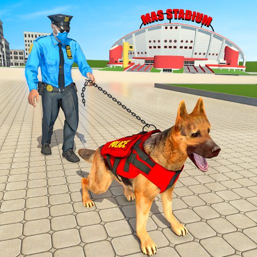 Police Dog Football Stadium Crime Chase Game  (Unlimited money,Mod) for Android
