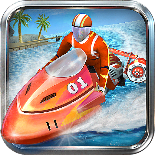 Powerboat Racing 3D  (Unlimited money,Mod) for Android