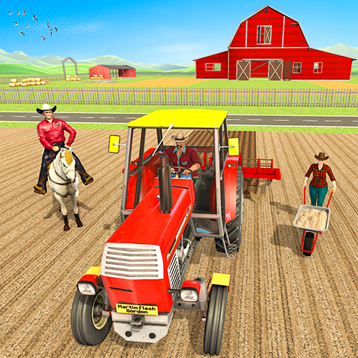 Ranch Farming Simulator 3D  (Unlimited money,Mod) for Android
