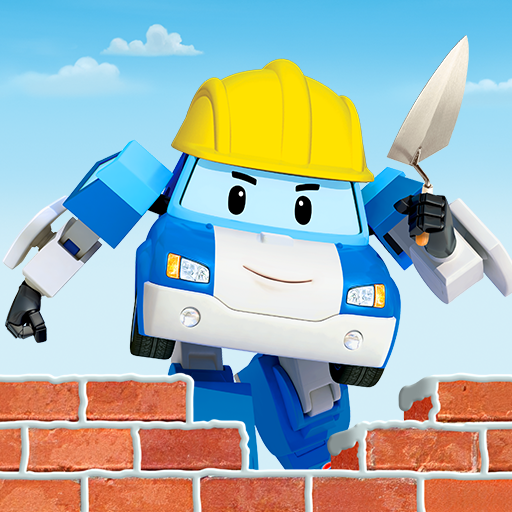 Robocar Poli: Builder! Games for Boys and Girls!  (Unlimited money,Mod) for Android