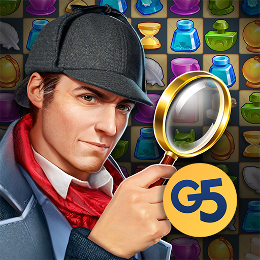 Sherlock:MysteryHiddenObjects& Match-3 Cases  (Unlimited money,Mod) for Android
