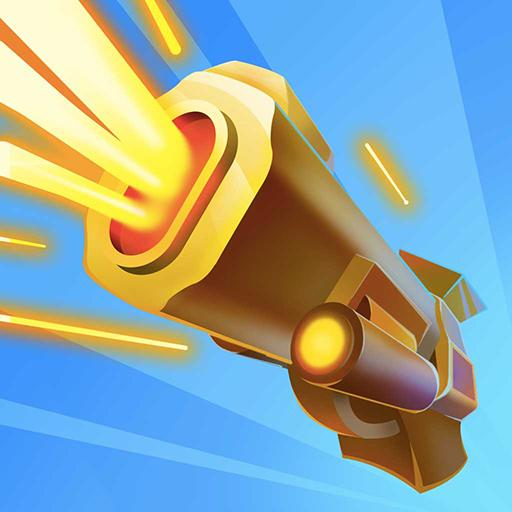 Shooting the Pixel – Guns & Bricks  (Unlimited money,Mod) for Android