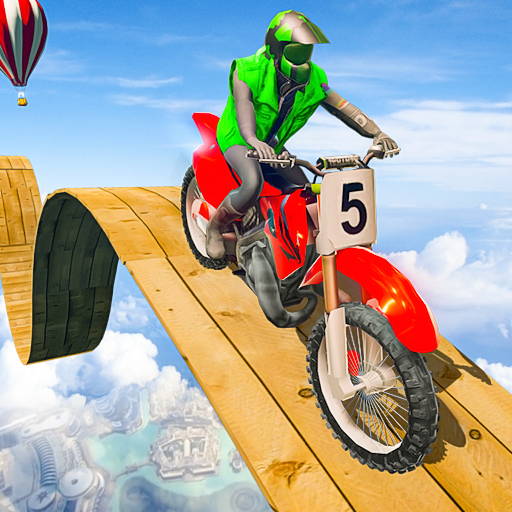 Stunt Bike 3D Race – Tricky Bike Master  (Unlimited money,Mod) for Android