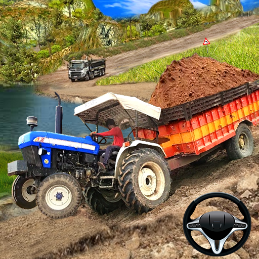 Tractor Trolley Drive Farming Simulator Game 2021  (Unlimited money,Mod) for Android