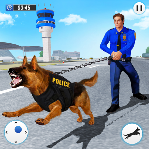 US Police Dog 2020: Airport Crime Shooting Game  (Unlimited money,Mod) for Android