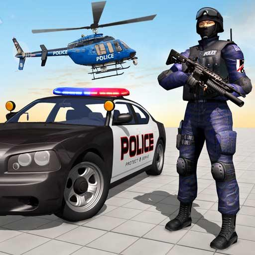 US Police Shooting Crime City  (Unlimited money,Mod) for Android