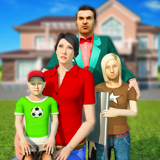 Virtual Family Simulator: house renovation games  (Unlimited money,Mod) for Android