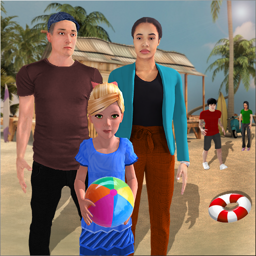 Virtual Family Summer Vacations Fun Adventures  (Unlimited money,Mod) for Android