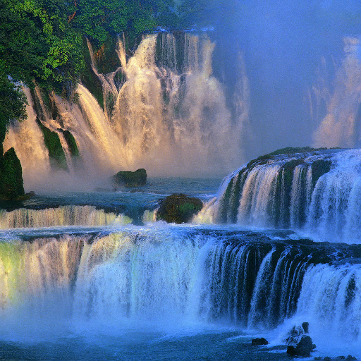 Waterfall Jigsaw Puzzles  (Unlimited money,Mod) for Android