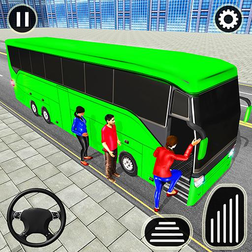 City Passenger Coach Bus Simulator Bus Driving 3D  8.1.21 (Unlimited money,Mod) for Android