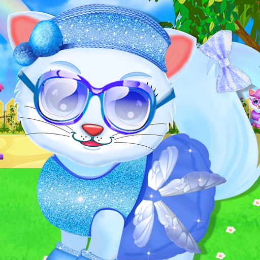 Cute Kitty Daycare Activity – Fluffy Pet Salon  (Unlimited money,Mod) for Android