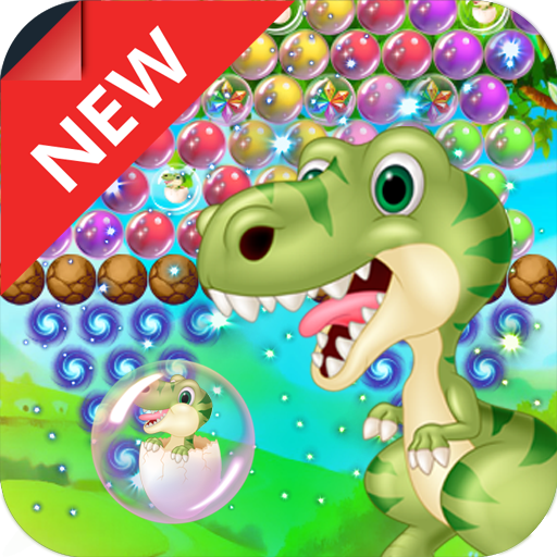Dinosaur Bubble Shooter Primitive  (Unlimited money,Mod) for Android