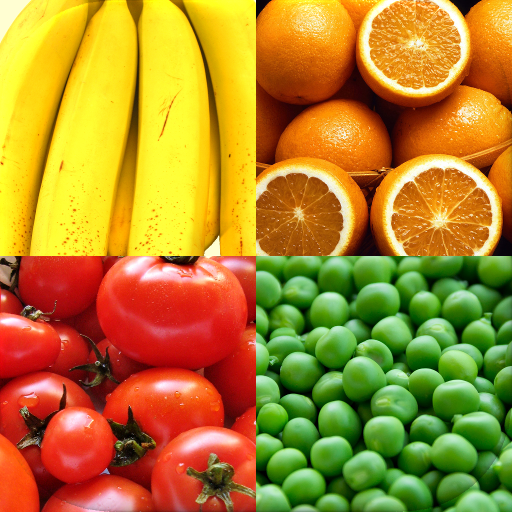 Fruit and Vegetables, Nuts & Berries: Picture-Quiz  (Unlimited money,Mod) for Android
