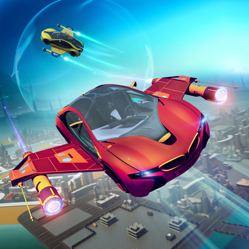 Futuristic Flying Car Racer  (Unlimited money,Mod) for Android