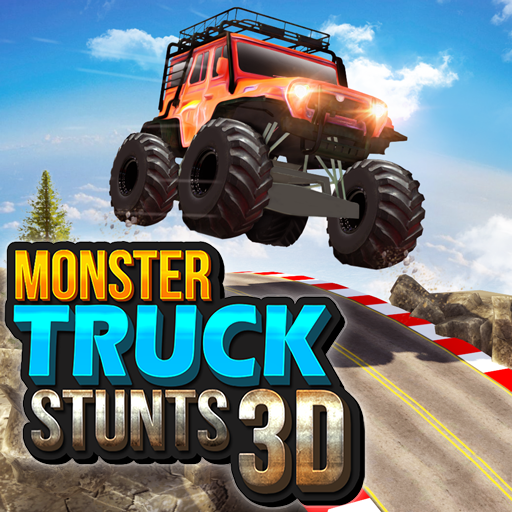 Monster Truck Game: Impossible Car Stunts 3D  (Unlimited money,Mod) for Android