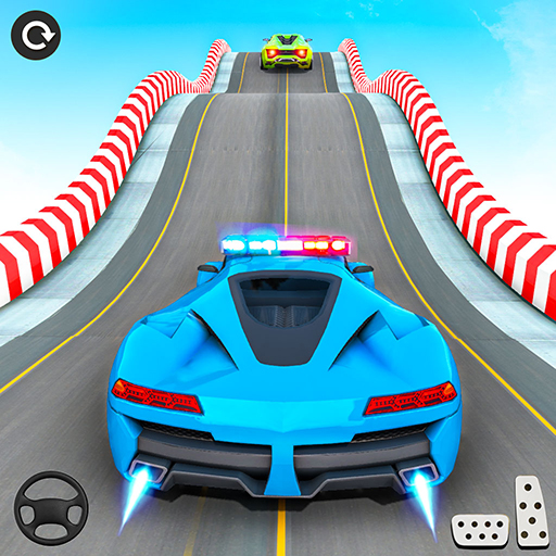 Police Car Stunt: Mega Ramps  (Unlimited money,Mod) for Android