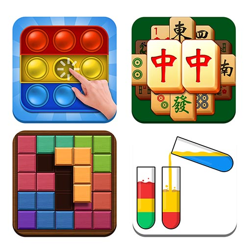 Puzzle Game Collection&Antistress  (Unlimited money,Mod) for Android