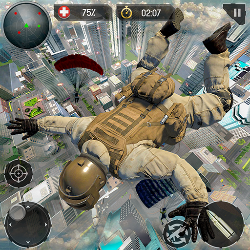 Real Commando Fire Ops Mission: Offline FPS Games  (Unlimited money,Mod) for Android