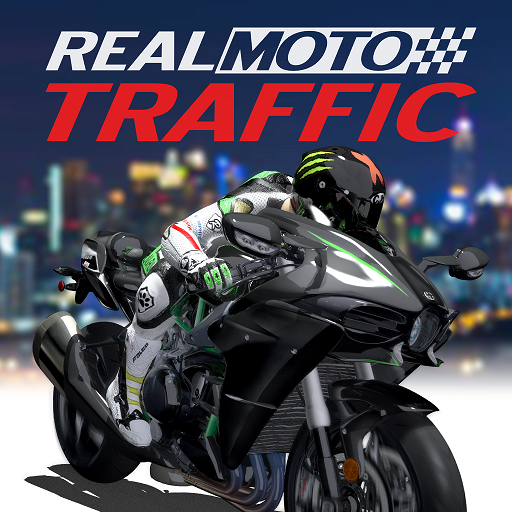Real Moto Traffic  (Unlimited money,Mod) for Android