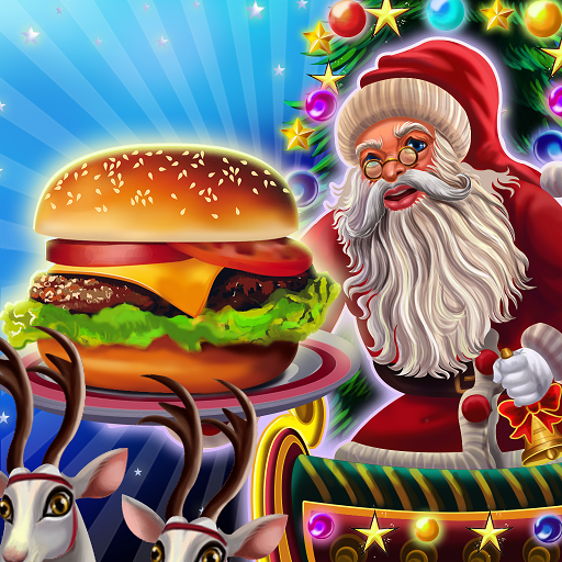 Santa Restaurant Cooking Game  (Unlimited money,Mod) for Android