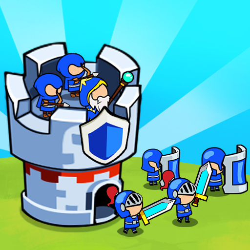 Save The Kingdom: Merge Towers  (Unlimited money,Mod) for Android