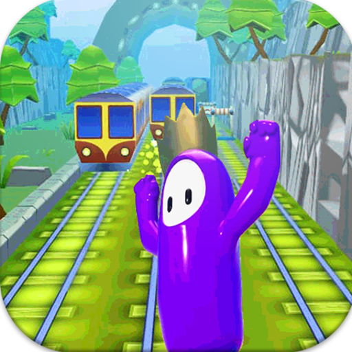 Subway Fall Run Guys  (Unlimited money,Mod) for Android