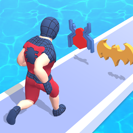 Superhero Run – Epic Transform Race 3D  (Unlimited money,Mod) for Android