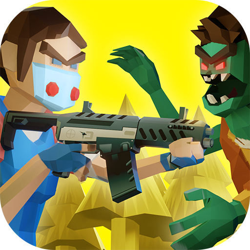 Two Guys & Zombies 3D: Online game with friends  (Unlimited money,Mod) for Android