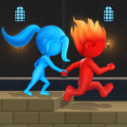 Water & Fire Stickman 3D  (Unlimited money,Mod) for Android